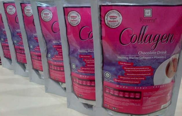 Ryverra Collagen Chocolate Drink (5000mg + Vitamin C)